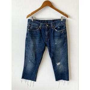 Vintage Levi's Distressed High Waisted Jeans 30